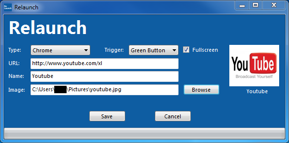 Example of Relaunch